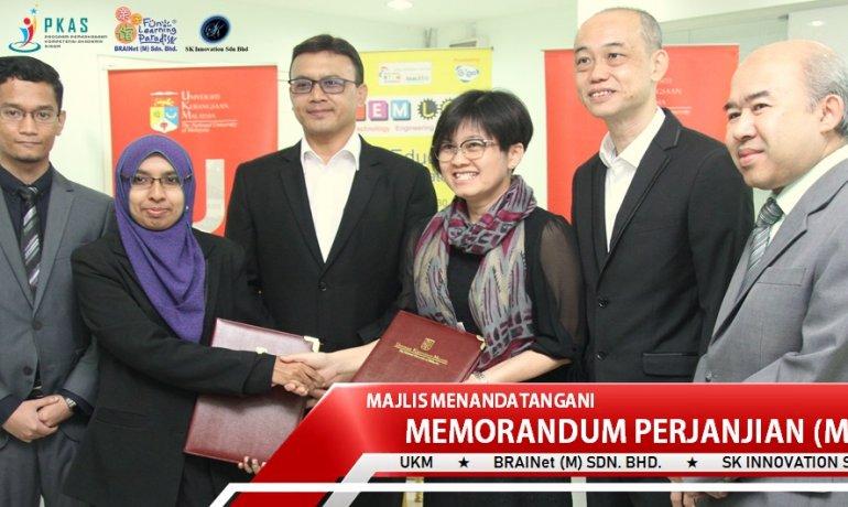 MoA Signing Ceremony UKM – BRAINet – SK Innovation