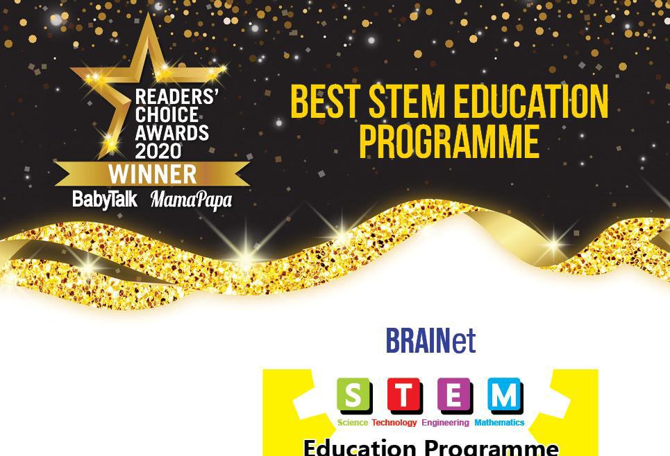 BEST STEM Education Programme – Readers' Choice Awards 2020 Winner